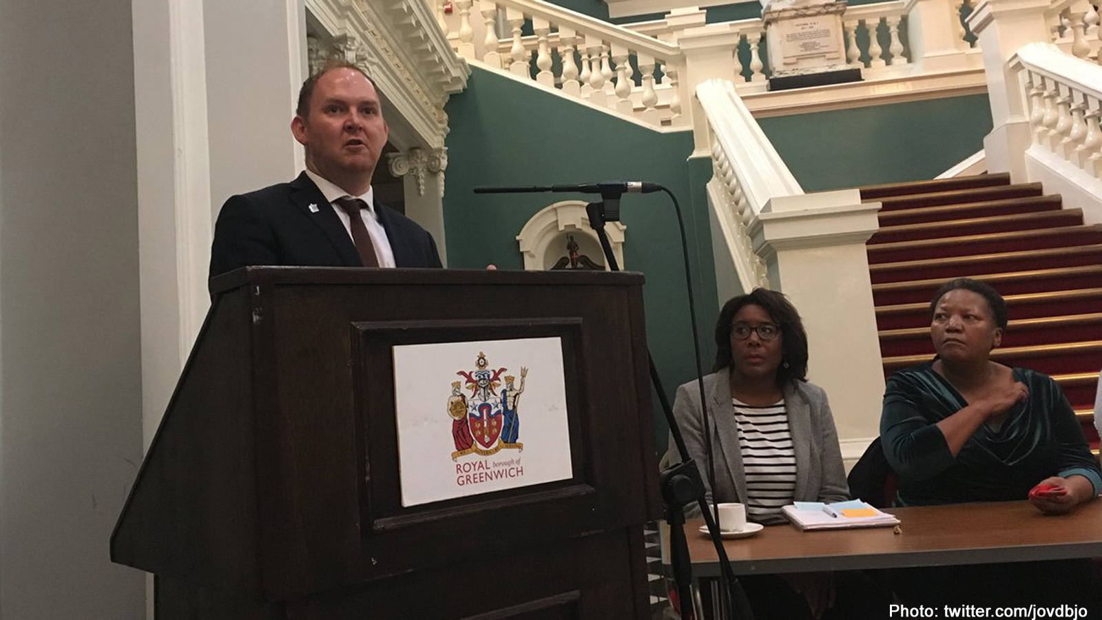 Danny Thorpe trounces rival to stay as Greenwich Council leader – and has  new deputy – 853